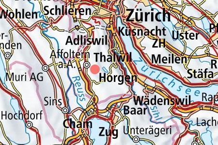 Bauland Parzelle Rifferswil zwischen Zürich und Zug Makrolage