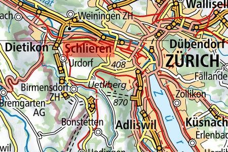 Makrolage Verkauf Gewerbehaus mit Wohnunge in Schlieren